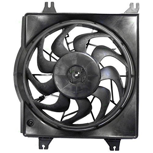 HY3115122 Fit 2006-2011 HYUNDAI ACCENT DRIVER SIDE ENGINE COOLING FAN ASSEMBLY